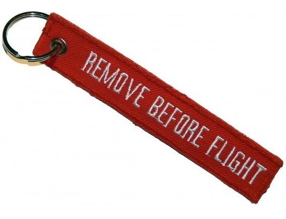 Llaveros Aeronauticos Remove Before Flight