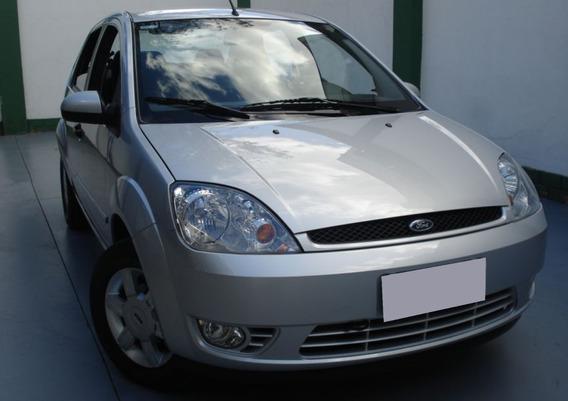 Ford Fiesta 1.6 Mpi Sedan 8v Flex 4p Manual 2006 Cor Prata