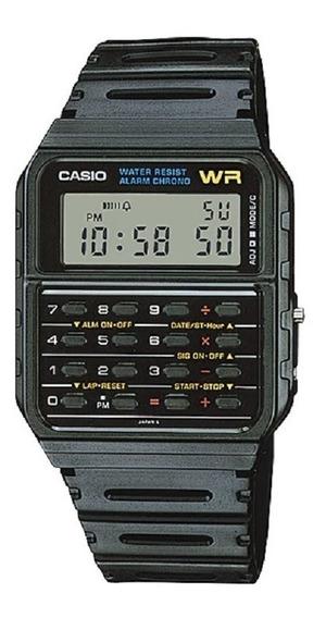 Relógio Unissex Calculadora Data Bank Ca-53w-1z Original