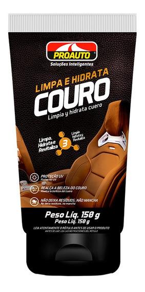 Limpa E Hidrata Couro 150g Proauto