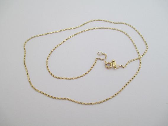Belo Colar Em Ouro 18k - 2.09 Gr