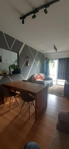 Apartamento Com 3 Dormitórios À Venda, 68 M² Por R$ 270.000,00 - Vila São Geraldo - Taubaté/sp - Ap4096