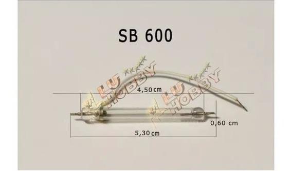 Lampada Para Flash Nikon Sb 600 Xenon Compare As Dimensões