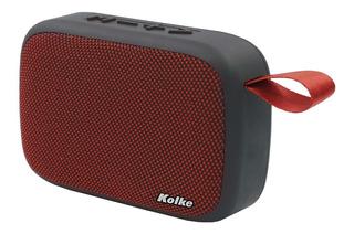 Parlante Bluetooth Extra Bass Tela Diseño Kolke Kpp-262