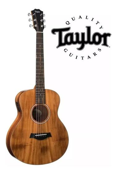 Violão Elétrico Taylor Gs Mini E-koa + Bag Luxo Taylor