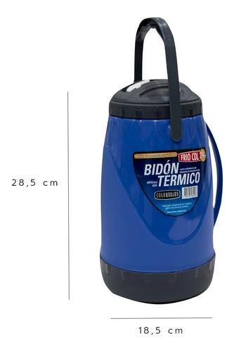 Bidon Botella Termo Termico Frio Col 2.4lt Jarra Colombraro