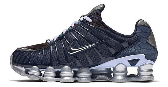 Nike Shox Tl 12 Molas Azul