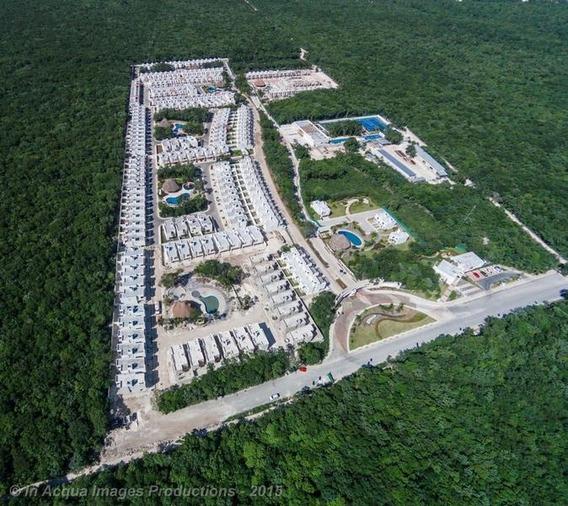 Casa 3 Recs En Privada Con Areas Deportivas Playa Del Carmen (106)