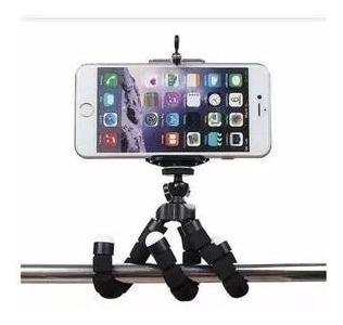 Tripé Flexível Suporte Celular Camera Selfie Qualidade