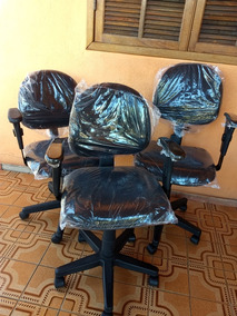 Cadeiras Giratorias Escritório 3 Regulagens