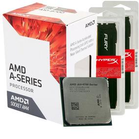Kit Upgrade Amd A10-9700 + Memoria Hyperx Ddr4 16gb