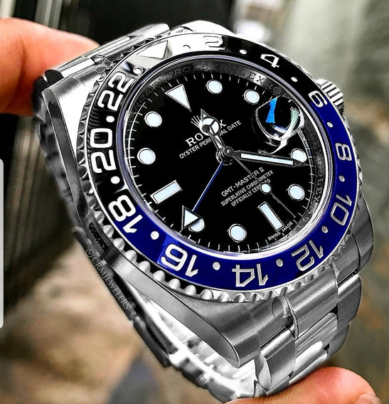 Rolex Gmt Master 2 100mts Automatico