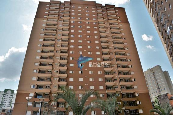 Apartamento Com 3 Dormitórios Para Alugar, 77 M² Por R$ 2.500/mês - Jardim Tupanci - Barueri/sp - Ap0026