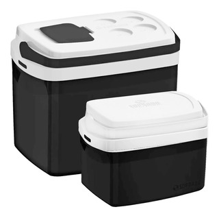 Combo 2 Cooler 32, 12 Litros Cores Caixa Térmica Soprano