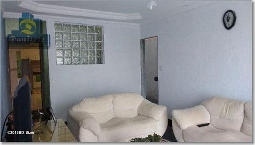 Sobrado Com 3 Dormitórios À Venda, 194 M² Por R$ 690.000,00 - Parque Gerassi - Santo André/sp - So0607