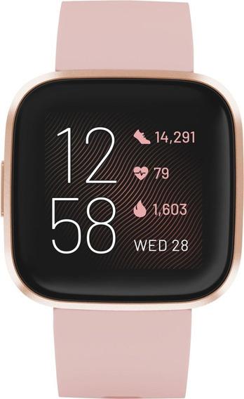 Smarwatch 40mm - Fitbit Versa 2 Aluminum- Rosa Cobre/silicon