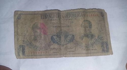 Imagen 1 de 2 de Billete De 1 Peso Oro  Del Banco De La Republica De Colombia