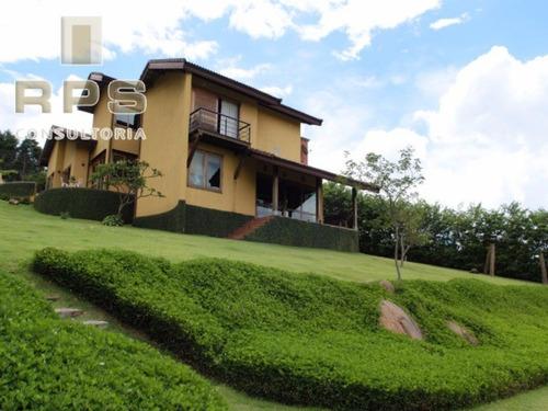 Imagem 1 de 10 de Casa Em Condominio Para Locação - Jardim Flamboyant - Atibaia - Sp - Cc00024 - 3507189