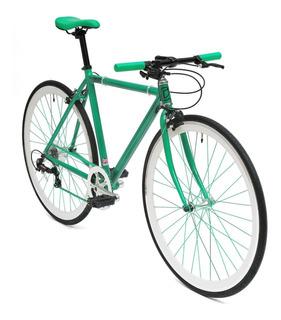 Bicicleta Fixie Aluminio Color Verde 8 Vel. (from England)