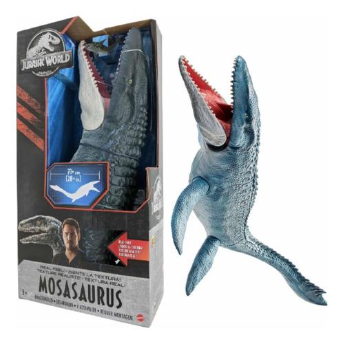 Dinosaurio Mosasaurus Jurassic World De 71 Cm Textura Real