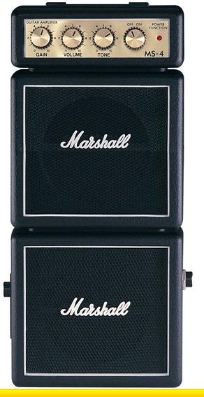 Mini Marshall Ms4 Combo Ms-4 Amplificador Guitarra Novo