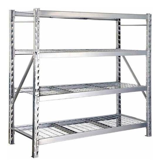 Rack Estante Acero Industrial Uso Rudo Ajustable