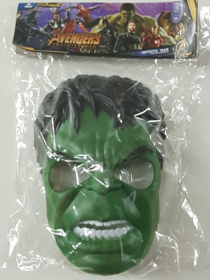 Mascara Hulk Luz Agarre Regulable Plastico Duro Calidad