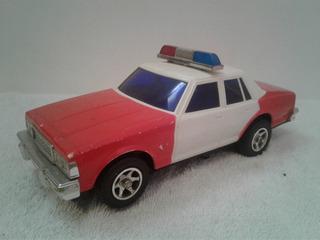 Chevrolet Caprice Patrulla Escala A Baterias Juguete Vintage