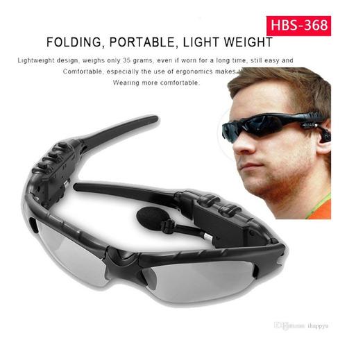 Gafas De Sol Bluetooth Manos Libres Micrófono + Estuche