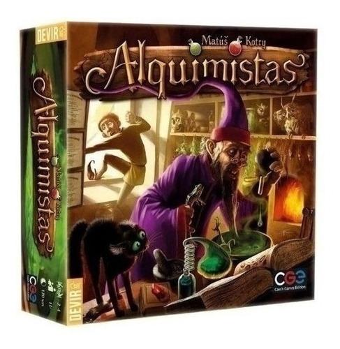 Juego De Mesa - Alquimistas - Xion Store