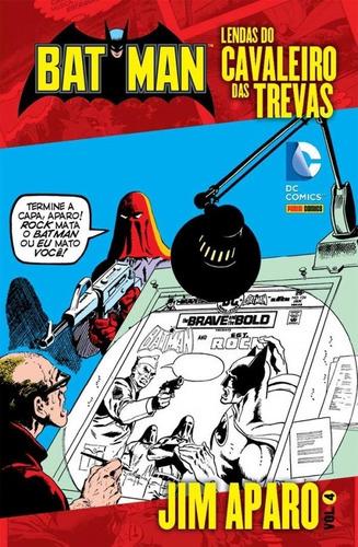 Imagem 1 de 1 de Batman Lendas Do Cavaleiro Das Trevas Jim Aparo 4 Dc Comics