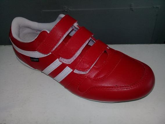 Zapatillas Oxigeno 100%cuero Zara Red Talles 38 Al 44