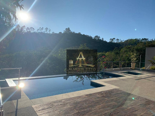 Magnifica Casa Á Venda No Residencial Gênesis Ii - Confira ! - Ca2090