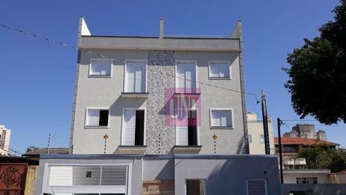 Cobertura Com 2 Dormitórios À Venda, 96 M² Por R$ 325.000,00 - Parque Erasmo Assunção - Santo André/sp - Co0829