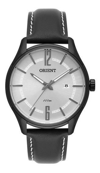 Relógio Orient Masculino Preto Couro Original Mpsc1005 S2pb