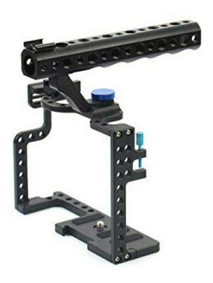 Cage Gaiola Para Dslr Panasonic Lumix Gh5 - Pronta Entrega
