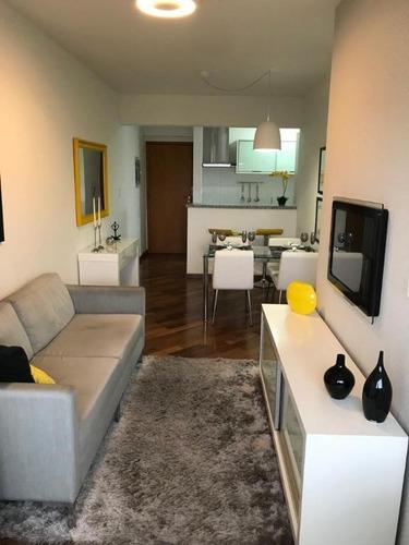 Apartamento Com 2 Dormitórios À Venda, 60 M² Por R$ 436.000 - Campestre - Santo André/sp - Ap6084