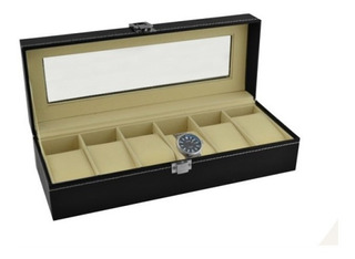Caja Organizador Para Reloj O Pulseras Exhibidor