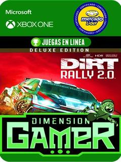Dirt Rally 2.0 Deluxe - Xbox One - Online/offline
