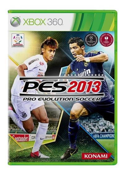 Pes 13 - Pro Evolution Soccer 2013 - Xbox 360 - Usado
