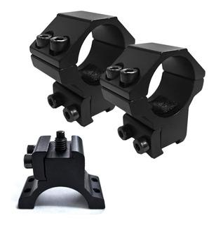 Montaje Bipieza Reforzado Bajo Alto - Mira Telescopica Swat