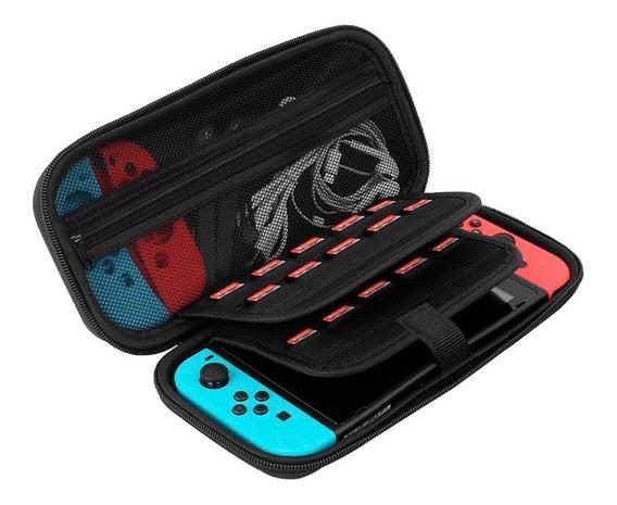 Redlemon Kit Nintendo Switch Funda Mica Glass Silicon Joycon