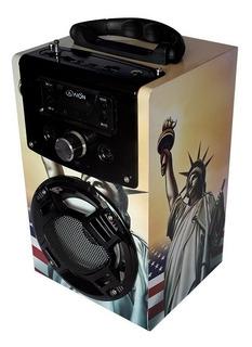 Bocina Portátil Bluetooth Inalámbrica C/micrófono Recargable