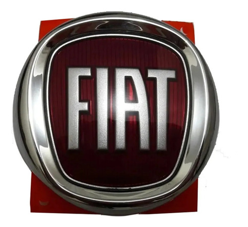 Imagem 1 de 2 de Emblema Da Grade Dianteira Uno Mille 2010 2011 2012 Fiat