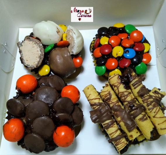 Cupcakes Golosos Navideños Personalizado Bajo Pedido Quito