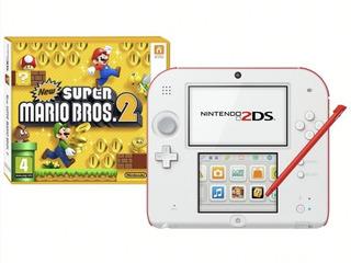 Consola Nintendo 2ds Super Mario Bros Usado
