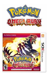 Pokemon Omega Ruby Nintendo 3ds Nuevo Y Sellado