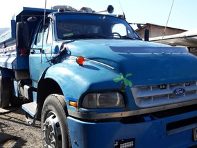 Camion Ford 14000 Mas Minicargador Y Carro De Transporte