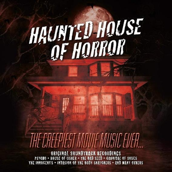 Soundtrack Haunted House Of Horror Vinilo Lp Color Stock