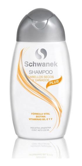 Shampoo Schwanek Cabellos Secos Y Dañados Caída De Cabello